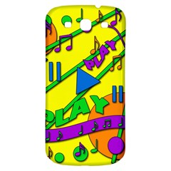 Music Samsung Galaxy S3 S III Classic Hardshell Back Case