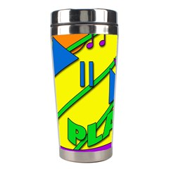 Music Stainless Steel Travel Tumblers