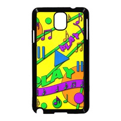 Music Samsung Galaxy Note 3 Neo Hardshell Case (Black)