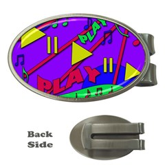 Music 2 Money Clips (Oval)