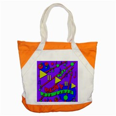 Music 2 Accent Tote Bag