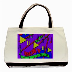 Music 2 Basic Tote Bag (Two Sides)