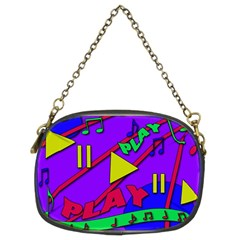 Music 2 Chain Purses (Two Sides)