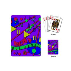 Music 2 Playing Cards (Mini)