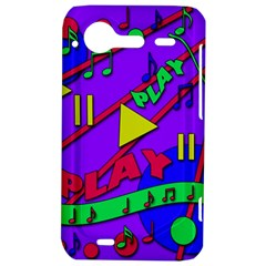 Music 2 HTC Incredible S Hardshell Case