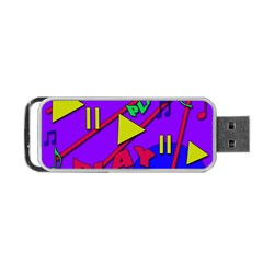 Music 2 Portable USB Flash (Two Sides)