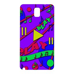 Music 2 Samsung Galaxy Note 3 N9005 Hardshell Back Case