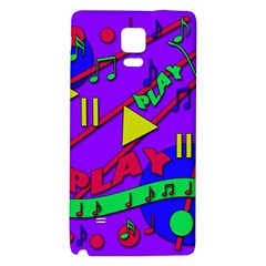 Music 2 Galaxy Note 4 Back Case