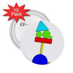 Balance  2.25  Buttons (10 pack)