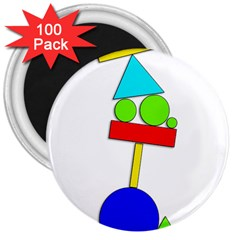 Balance  3  Magnets (100 pack)