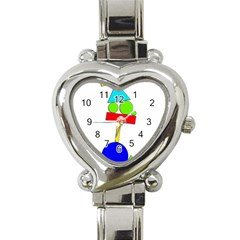 Balance  Heart Italian Charm Watch