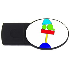 Balance  USB Flash Drive Oval (4 GB)