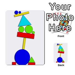 Balance  Multi Purpose Cards (rectangle)