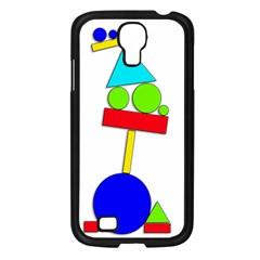 Balance  Samsung Galaxy S4 I9500/ I9505 Case (Black)