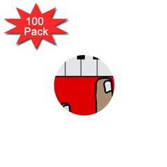 Piano  1  Mini Buttons (100 pack)