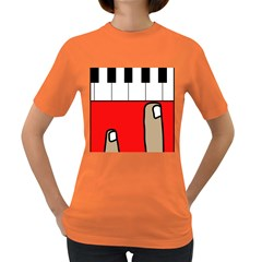 Piano  Women s Dark T-Shirt