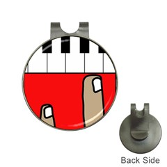 Piano  Hat Clips with Golf Markers