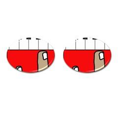 Piano  Cufflinks (Oval)