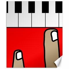 Piano  Canvas 8  x 10