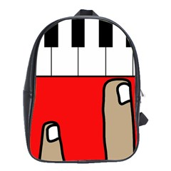 Piano  School Bags(Large)