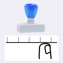 Piano  Rubber Stamps (Large)