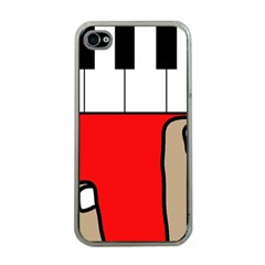 Piano  Apple iPhone 4 Case (Clear)