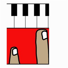 Piano  Small Garden Flag (Two Sides)