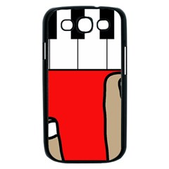 Piano  Samsung Galaxy S III Case (Black)