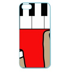 Piano  Apple Seamless iPhone 5 Case (Color)