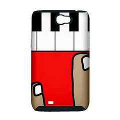Piano  Samsung Galaxy Note 2 Hardshell Case (PC+Silicone)