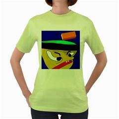 Accident  Women s Green T-Shirt