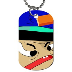 Accident  Dog Tag (Two Sides)