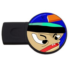 Accident  USB Flash Drive Round (2 GB)