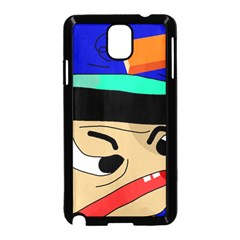 Accident  Samsung Galaxy Note 3 Neo Hardshell Case (Black)