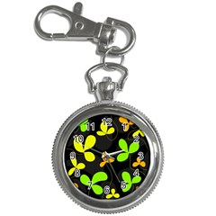 Floral design Key Chain Watches