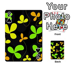 Floral Design Playing Cards 54 Designs