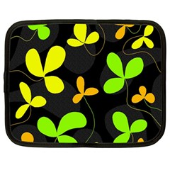 Floral design Netbook Case (Large)