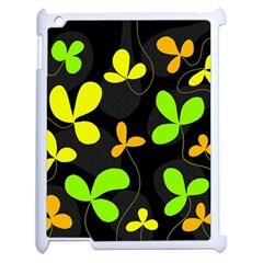 Floral design Apple iPad 2 Case (White)