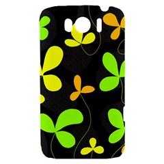 Floral design HTC Sensation XL Hardshell Case