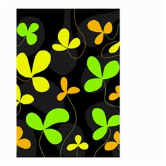Floral design Small Garden Flag (Two Sides)