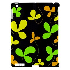 Floral design Apple iPad 3/4 Hardshell Case (Compatible with Smart Cover)