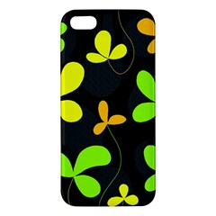 Floral design Apple iPhone 5 Premium Hardshell Case