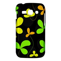 Floral design Samsung Galaxy Ace 3 S7272 Hardshell Case