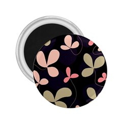 Elegant floral design 2.25  Magnets