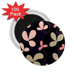 Elegant floral design 2.25  Magnets (100 pack)