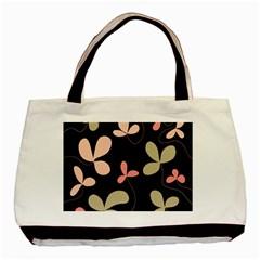 Elegant floral design Basic Tote Bag (Two Sides)
