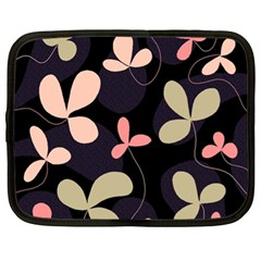 Elegant floral design Netbook Case (XL)