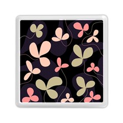Elegant floral design Memory Card Reader (Square)