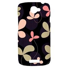 Elegant floral design HTC One S Hardshell Case