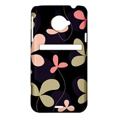 Elegant floral design HTC Evo 4G LTE Hardshell Case